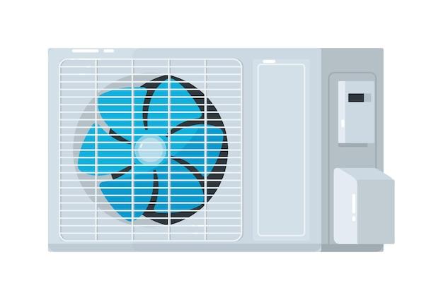Split system air conditioner outdoor unit