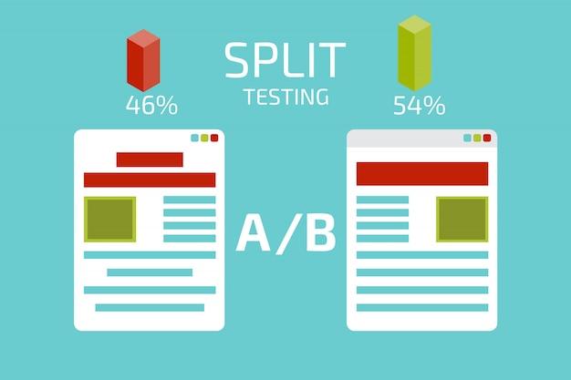 分割テストの概念