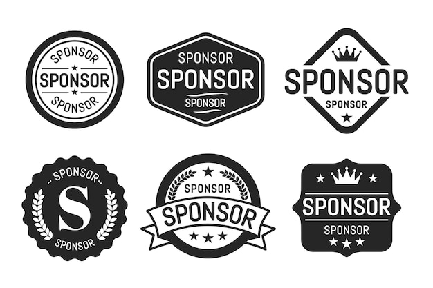 Sponsor label collection