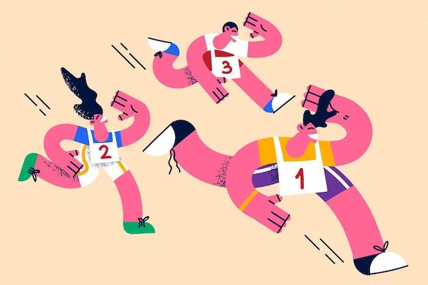 スポーツアクティブライフスタイル競技コンセプト