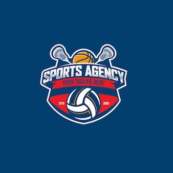 스포츠 대행사 배지 디자인 서식 파일