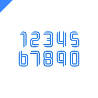 라틴어 숫자와 스포츠 알파벳입니다.