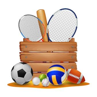 Иллюстрация спортивного фона