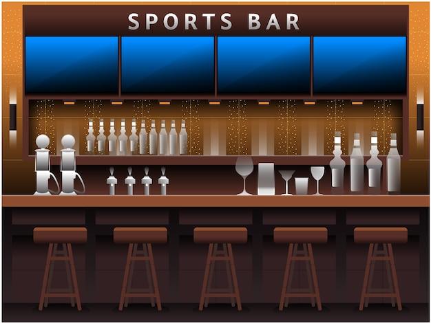 Спорт бар фон