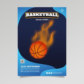 Stile modello brochure sport
