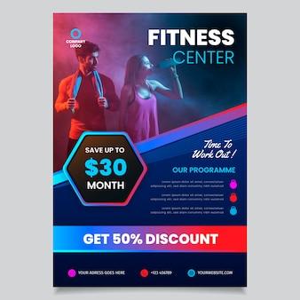 Sport brochure template