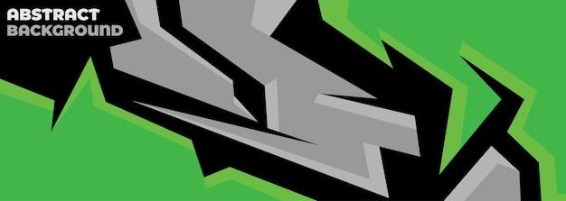 Спортивный автомобиль наклейка абстрактный геометрический стиль