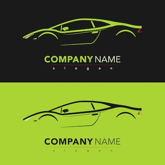 Sport car design card. vector illustration.