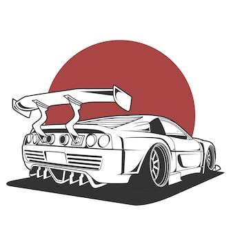 스포츠 자동차 그림
