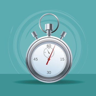Sport chronometer isolated