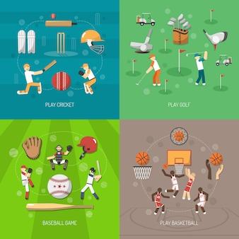 Concetto di design sportivo