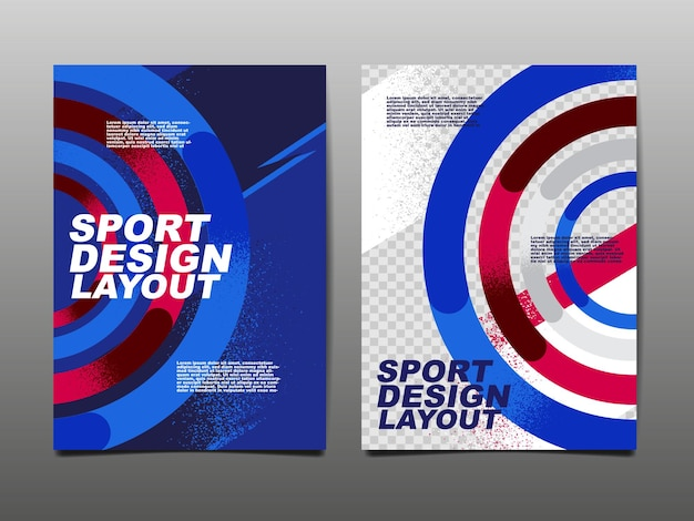 Sport design layout ,template design.