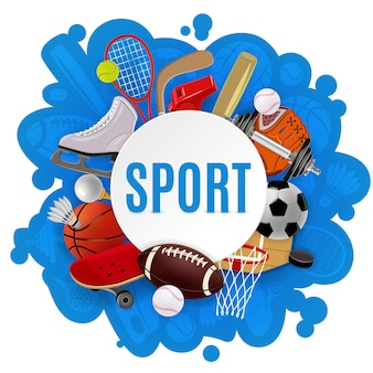 Концепция спортивного инвентаря