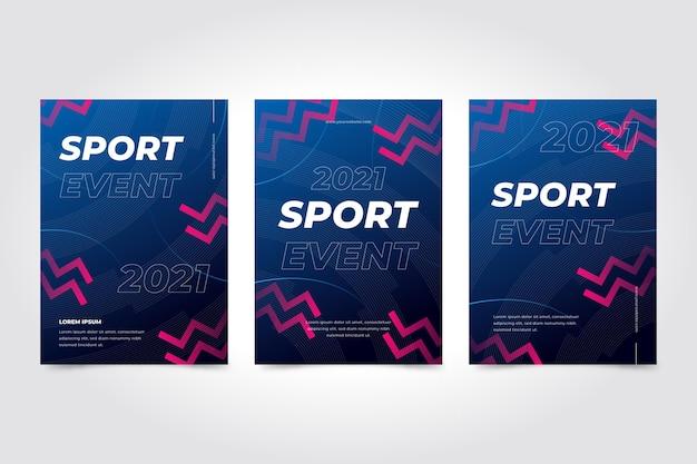 スポーツイベントポスターテンプレート