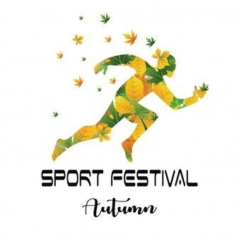 Sport festival autumn