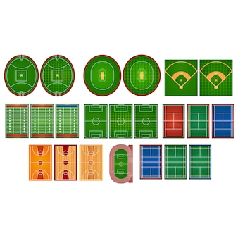 Sport fields collection