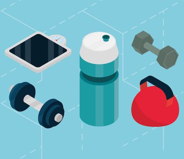 Спортивное оборудование для фитнеса