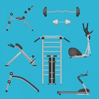 Sport fitness gym exercise equipment