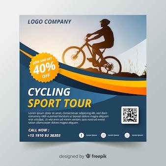 Sport flyer