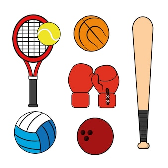 Sport game background icon