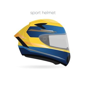 スポーツヘルメット、オートバイスタイルのスポーツやレース用のヘルメット
