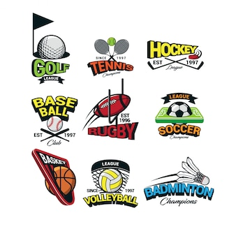 Sport international logo vector