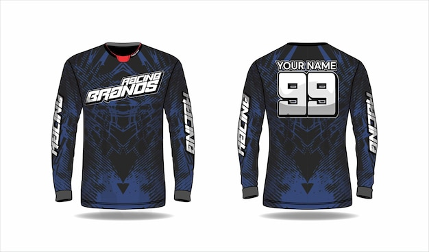 Sport jersey design concept
