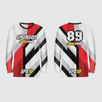 Sport jersey illustration