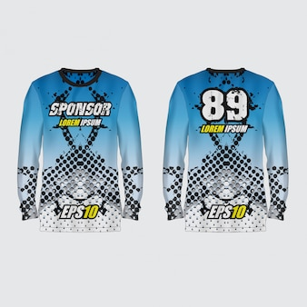Sport jersey illustration