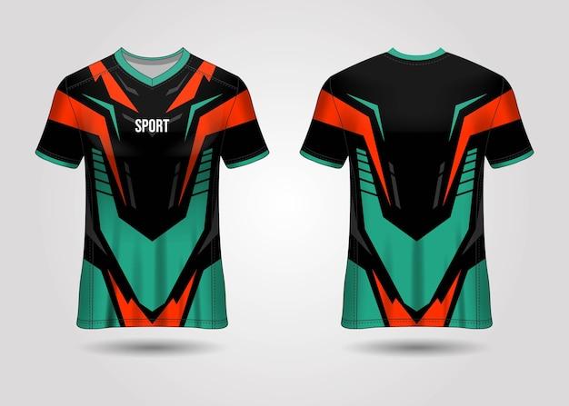 Sport jersey template design
