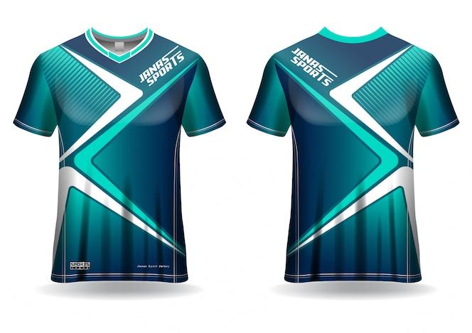 sport jersey tshirt  template