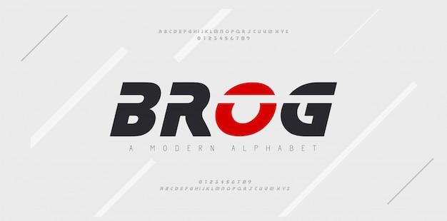 스포츠 현대 미래 기울임 꼴 알파벳 글꼴입니다. 기술, 디지털, 영화 로고 이탤릭체 스타일을위한 타이포그래피 도시 스타일 글꼴. 삽화