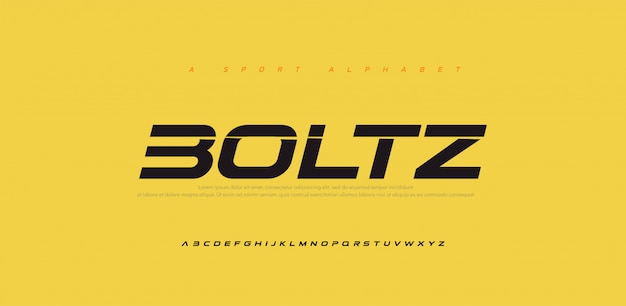 Sport modern future italic alphabet font. typography urban style fonts for technology, digital, movie logo italic style.