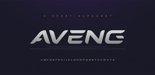Sport modern future italic alphabet font. typography urban style fonts for technology, digital, movie logo italic style.
