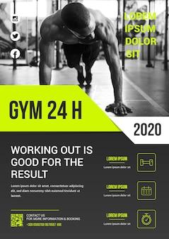 Tema modello sport poster