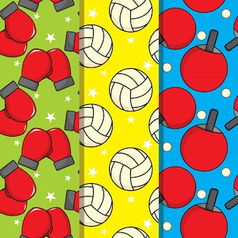 Sport seamless pattern