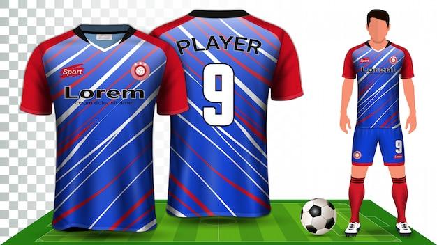 스포츠 셔츠 또는 축구 키트 유니폼.