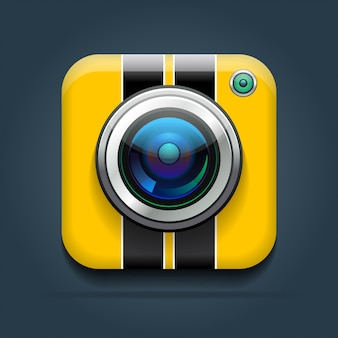 Sport shockproof camera icon