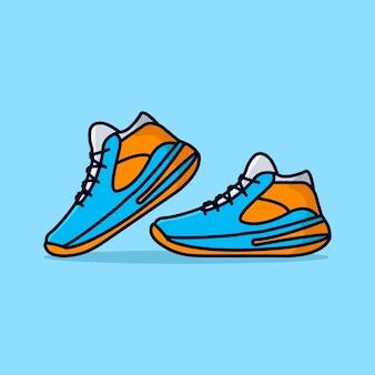 Иллюстрация спортивной обуви