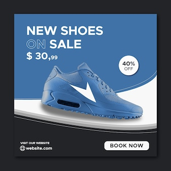 Продвижение спортивной обуви в социальных сетях