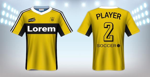 Sport t-shirt template