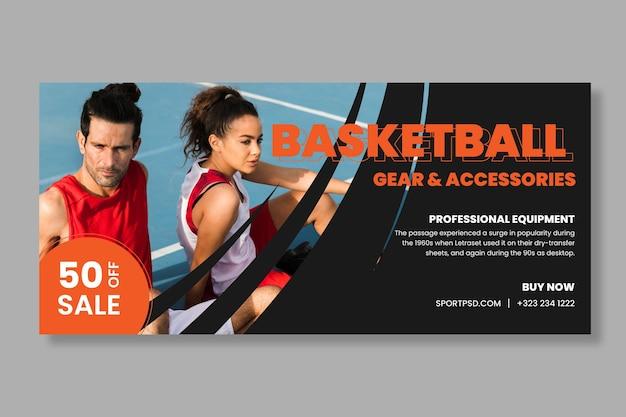 Banner sportivo e tecnologico