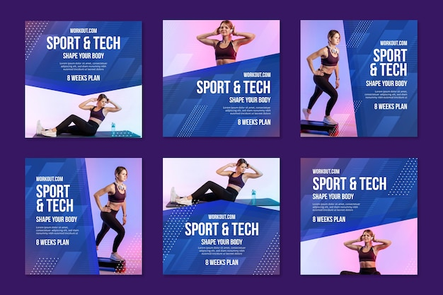 스포츠 및 기술 instagram posts