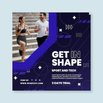 Sport and tech squared flyer