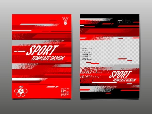 Sport template set