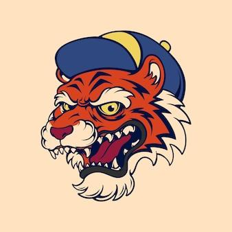 Спортивный тигр