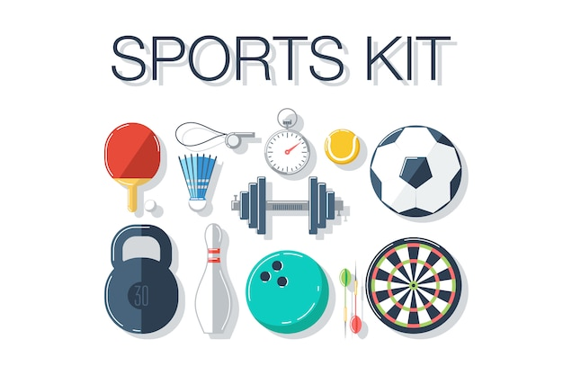 Sports accesories set