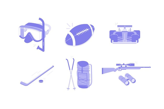 Sports & activities illustration
