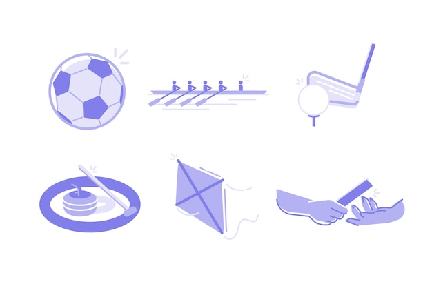 Sports and activities illustration