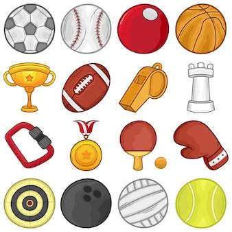 Значок спортивного мяча